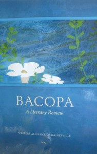 Bacopa Literary Review Cover
